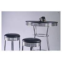 Комплект Roxy черный стол барный и 2 стула (CZ-1503)