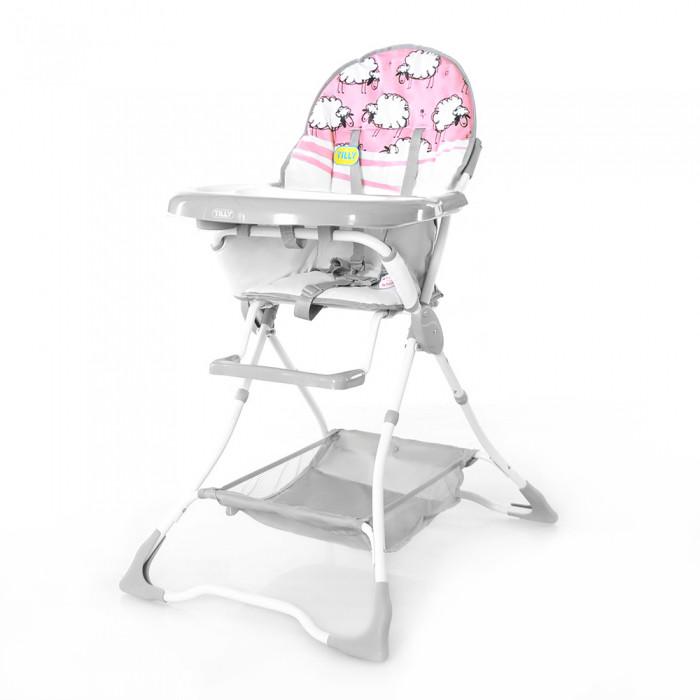 Стульчик для кормления baby tilly T-631 розовые барашки