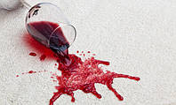 Удаление пятен от красного вина