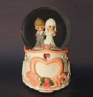 Свадебный музыкальный шар Молодожены