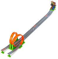 Игровой набор ТРЕК СКОРОСТНАЯ ПЕТЛЯ 2 дорожки + 2 машинки Bburago (18-30070)