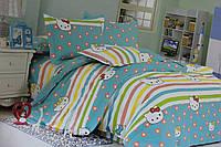 Детское постельное белье из сатина Китти Полянка 2