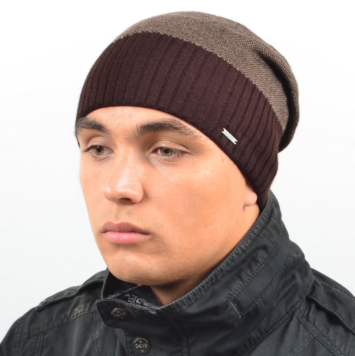 "Мужская шапка Nord ""Кнопка"""