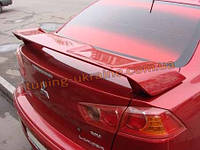 Спойлер Sim для Mitsubishi Lancer седан 2007-16