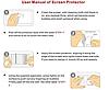 Загартоване захисне Скло чорне і золоте 0.26 мм для Meizu Note 3, фото 2