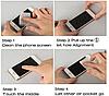 Загартоване захисне Скло чорне і золоте 0.26 мм для Meizu Note 3, фото 4
