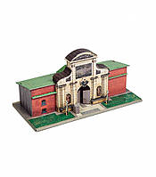 Картонная модель Петровские ворота 363 Умная Бумага