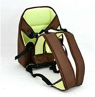 Гр Рюкзак-кенгуру №7 (1) сидя, цвет коричневый. Предназначен для детей с трехмесячного возраста