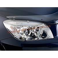 Защита фар Sim для Mitsubishi Outlander Кроссовер 2012-14 прозрачный 2013
