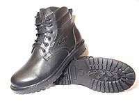 Кожаные зимние ботинки , модель Тр - 211.