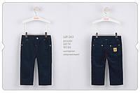 Дизайнерская коллекция Бемби, синие брюки для мальчика р-р 68,74