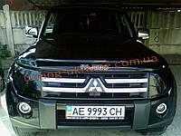 Защита фар Sim для Mitsubishi Pajero 2006-14 темная 2013