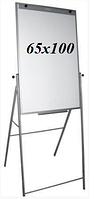 Флипчарт магнитно-маркерный на подставке  65х100см