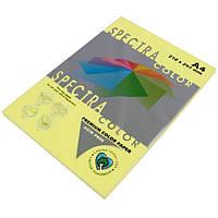 Бумага A4 'Spectra' ПАСТЕЛЬ 160 (Yellow) 100 л./80 гр.