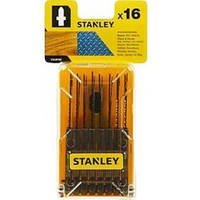 Акс.инстр Stanley набор полотен STA28160 по дереву, металлу 16шт.