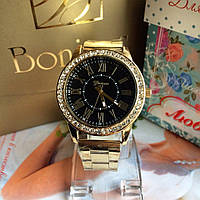 Женские наручные часы золотые