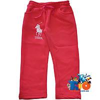 """Детские спортивные брюки """"Uspa"""" , трикотаж на флисе , для девочек от 5-8 лет"""