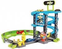 Игровой набор GoGears «Скоростной подъем» гараж 3 уровня, 1 машинка Bburago (18-30261)