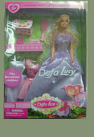 """Кукла с одеждой и аксессуарами """"Defa Lucy"""" 8071"""