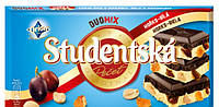 Шоколад Studentska Duomix черный с белым 180 гр