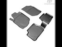 Коврики в салон  Peugeot 207 (06-12) (полиур., компл - 4шт)
