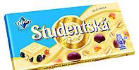 Шоколад Studentska белый с арахисом и изюмом 180 гр