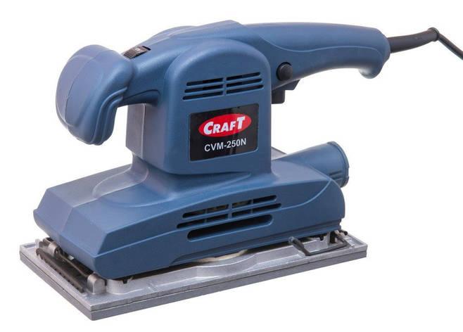 Вибрационная шлифовальная машина Craft CVM-250N, фото 2