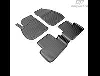 Коврики в салон  Opel  Zafira (5мест) (12-) (полиур., компл - 4шт)