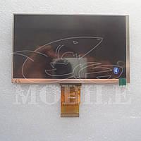 """Дисплей №62 7"""" 50pin (7300101466 E231732/YX070CL50C/773TG700E030011) (163*97mm) (800*480 dpi)"""