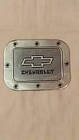 Наклейка на люк бензобака ШЕВРОЛЕТ, металлизированная