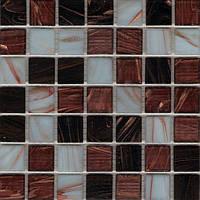 Мозаика для кухонного фартука стекло с авантюрином Vivacer GOmix 2
