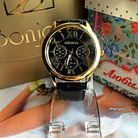 Мужские наручные часы Geneva черные