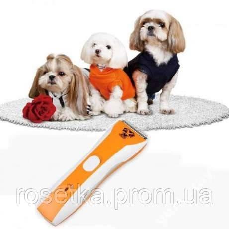 машинку-триммер для стрижки собак и кішок Pet Clipper BZ-806
