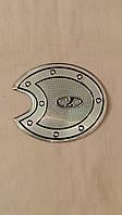 Наклейка на люк бензобака КАЛИНА, металлизированная