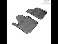 Коврики в салон  Volkswagen Caddy передки (04-) (полиур., компл - 4шт)