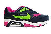 Женские кроссовки Nike Air Max, кожа Р. 37