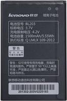 Аккумулятор для Lenovo A208, A369, A308 оригинальный, батарея BL203