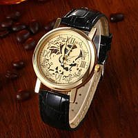 Мужские наручные часы Skeleton