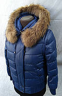 Куртка короткая женская зимняя (Аляска)