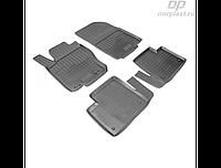 Коврики в салон  Mercedes GL (X166) /M (W166) (12-) (полиур., компл - 4шт)