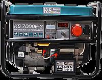 Генератор бензиновый Könner & Söhnen KS 7000 E-3 трехфазный