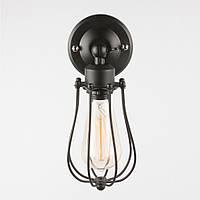 Светильник настенно-потолочный [ Casing black Loft ]