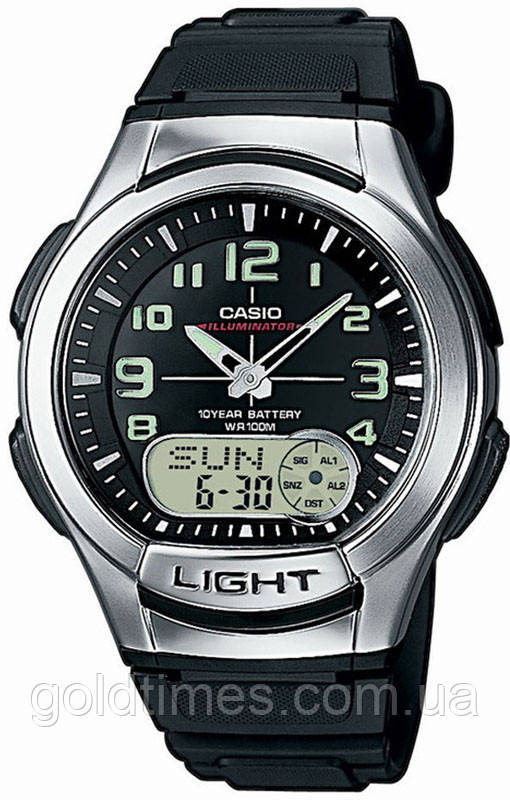 Часы Casio AQ-180W-1BVEF - GoldTimes в Харькове