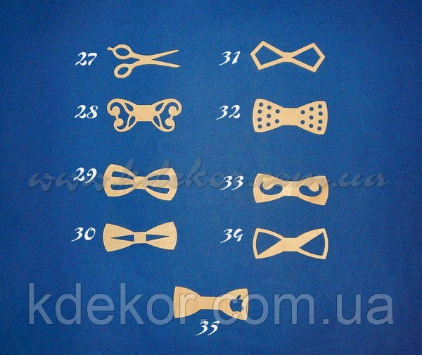 Бабочка-галстук (кроватка-метелик) №29