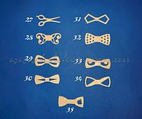 Бабочка-галстук (кроватка-метелик) №34 заготовка для декора
