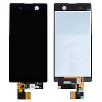 Дисплей для Sony E5603 Xperia M5, E5606 Xperia M5, E5633 Xperia M5 + с сенсором (тачскрином) Black