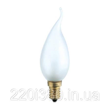 Лампа PHILIPS BXS-35 E14 40W матовая огонь свечки