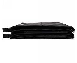 Мужская кожанная сумка под ноутбук и документы (формат А4) Alvi AV-102black, фото 2