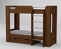 Кровать детская односпальная чердак Твикс2 ламинированное ДСП