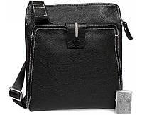 Мужская кожанная сумка премиум класса Alvi AV-2-2691